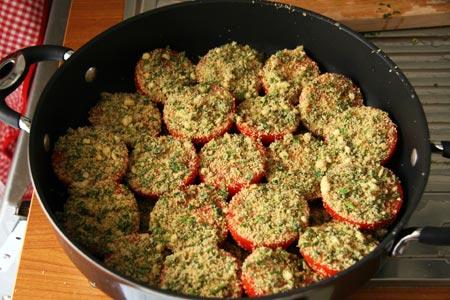 Pomodori ricoperti