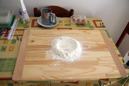 Fontana di farina