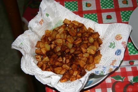 Scoliamo le patate