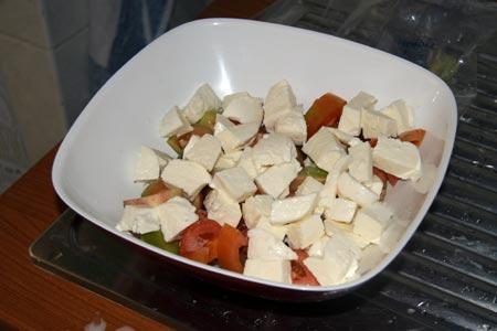 Pomodori e fior di latte