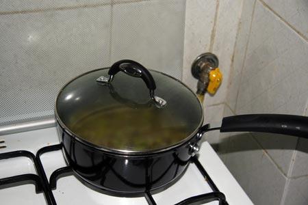 Facciamo cuocere per un ora e mezza circa