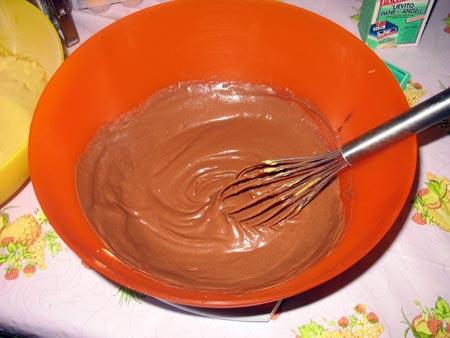 Impasto al cioccolato