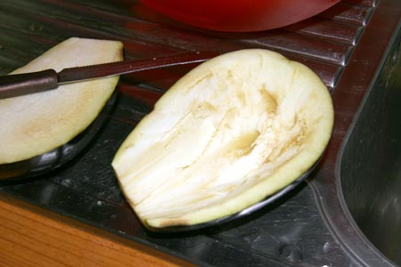 Svuotiamo le melanzane