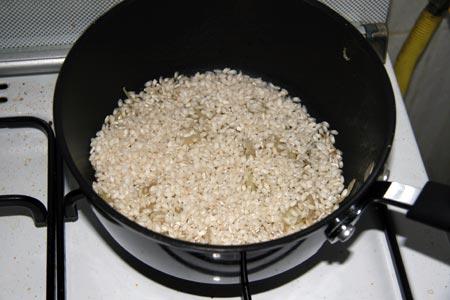 Tostiamo il riso