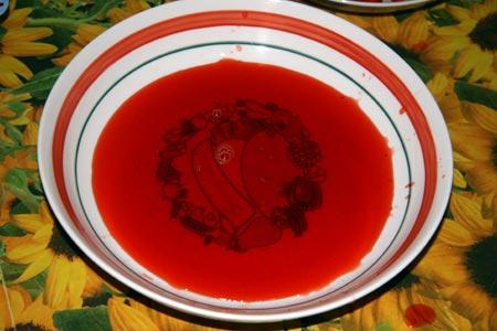 Succo delle fragole