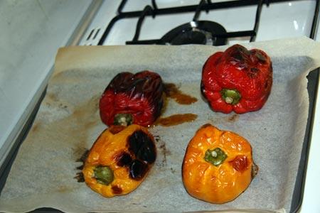Peperoni cotti