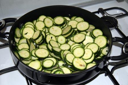 Aggiungiamo le zucchine