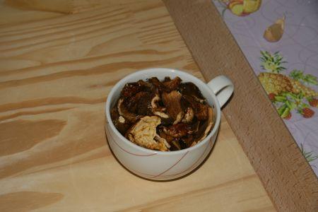 Funghi in ammollo